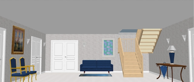 How To Customize Staircases Sweet Home 3D Blog | Sweet Home 3D Custom Stairs | Mural | Mezzanine | Interior Design | Mezzanine Floor | 3D Models