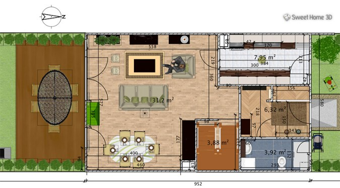 Sweet Home 3D   Draw floor plans and arrange furniture freely Sweet