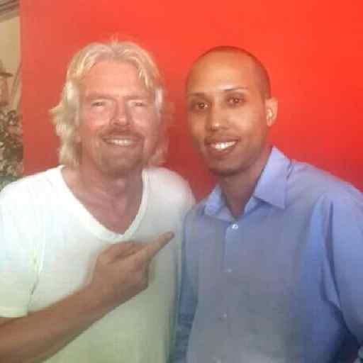 Richard Branson and I