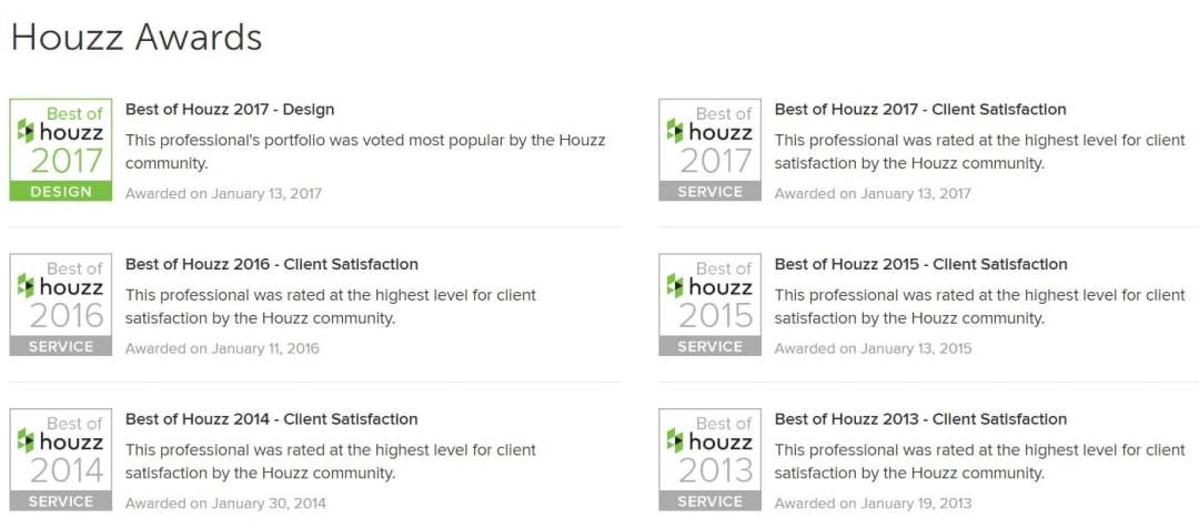 houzz awards houston