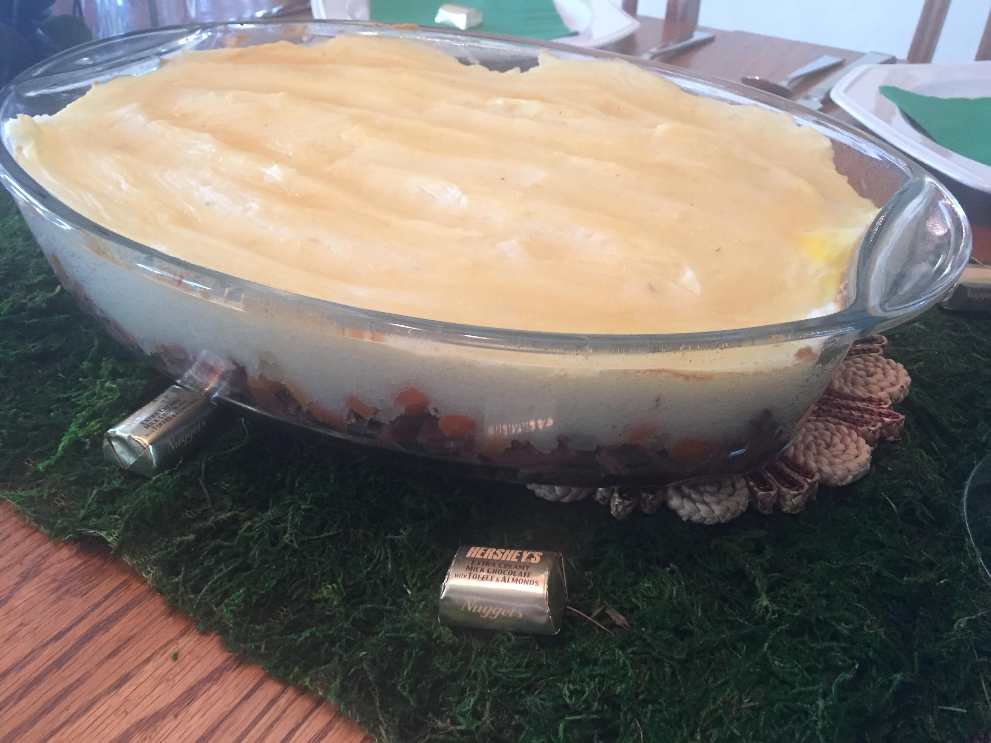 Corned Beef Shepard's Pie