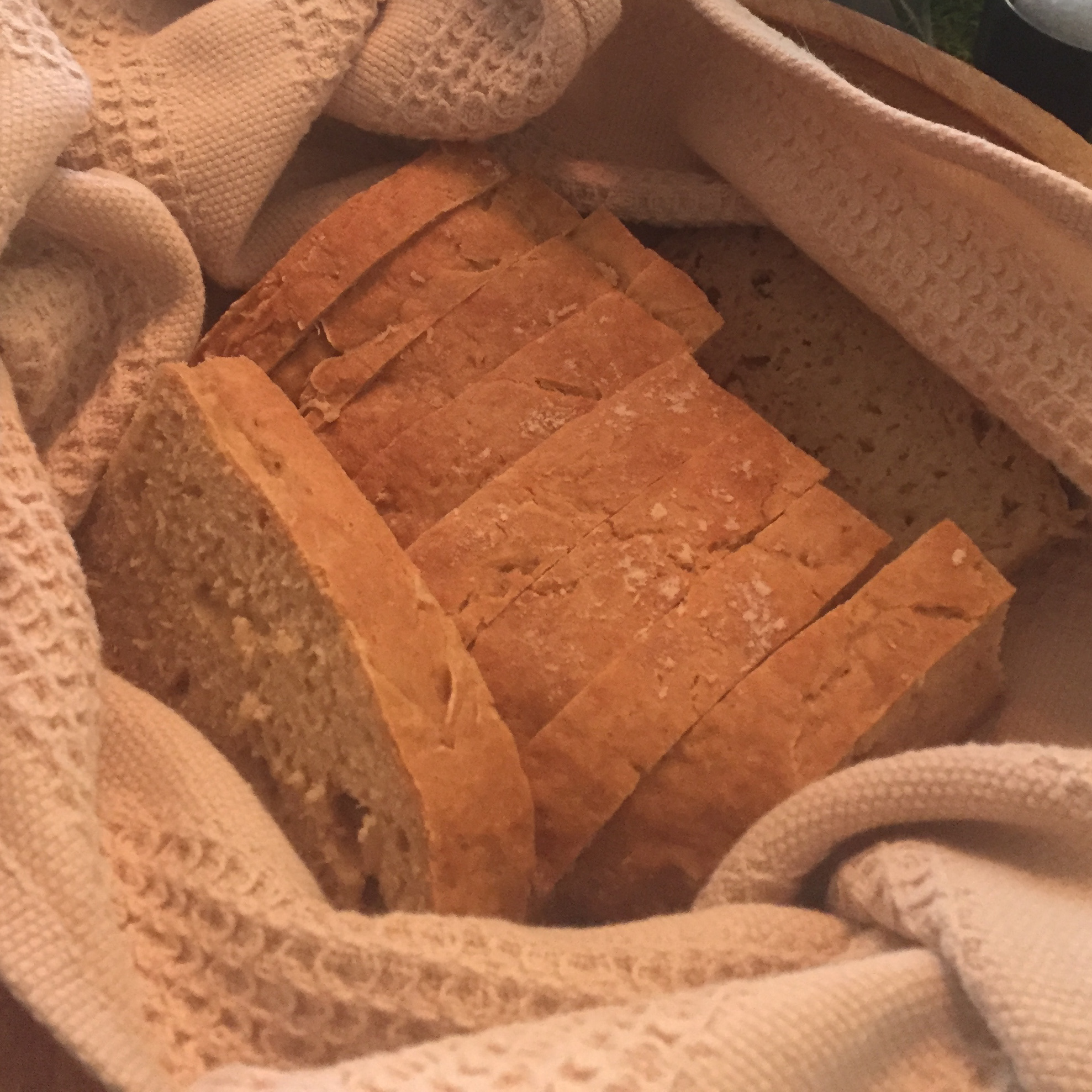 Irish Soda Bread at St. Patrick's Day dinner