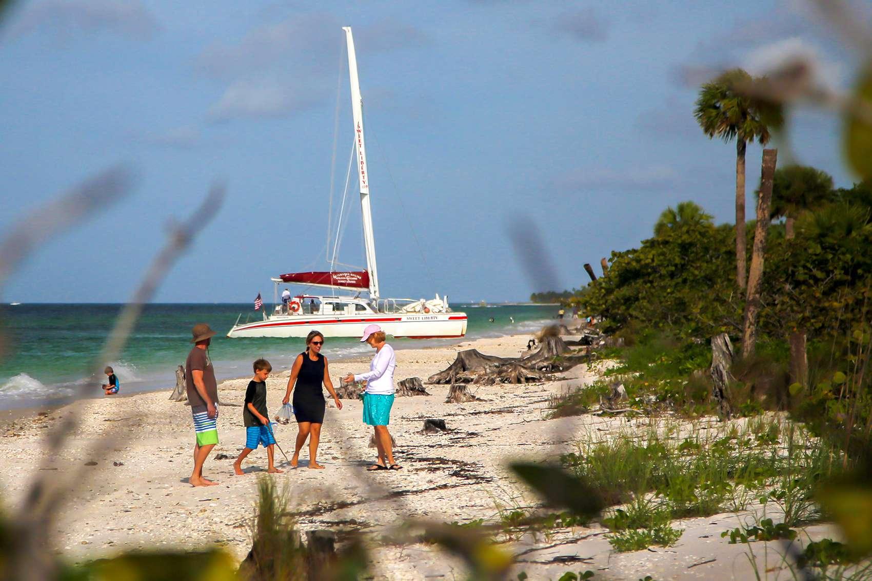 Naples Florida Shelling Cruise Shelling Beaches Keewaydin Island