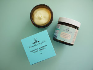 Grapefruit & Lavender Luxury Cleanser by Sweet Living Co. For all skin types. Handmade in Canada.