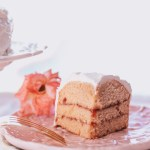Low-Calorie Healthy Strawberries & Cream Cake