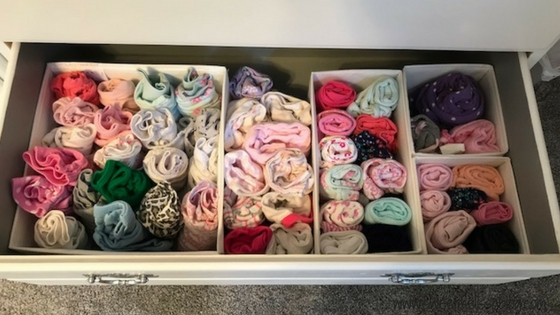 How I Organized The Nursery Dresser Sweet Melissa