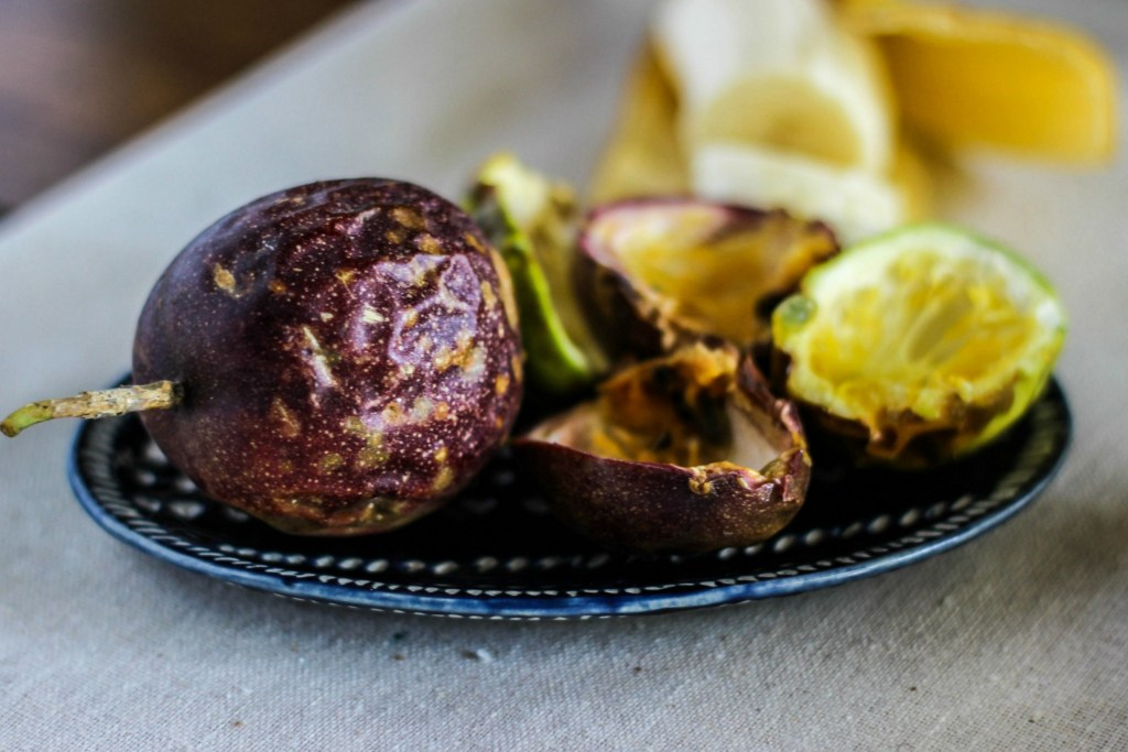 buckwheat porridge parfaits with banana and passion fruit | via sweet miscellany