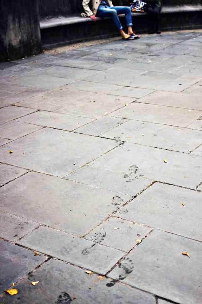 footprints | via sweet miscellany