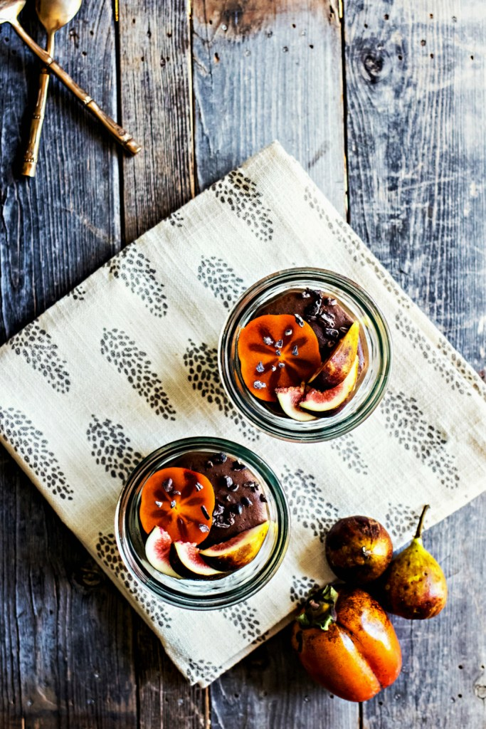 spiced cocoa buckwheat pudding   vegan gluten free recipe via sweet miscellany
