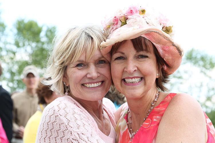 Board Member, Sherry Sharp (L) & Sweet Kim Newlen, Founder of Sweet Monday