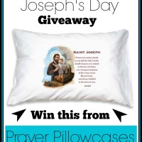 Saint Joseph's Day Giveaway | Prayer Pillowcases