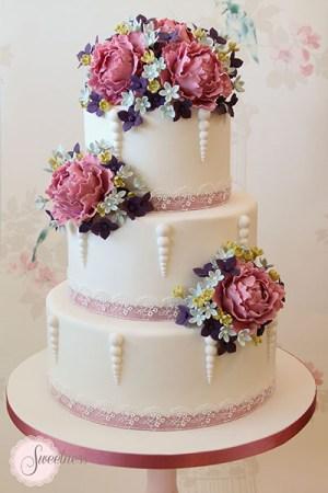 Peony Wedding Cakes London
