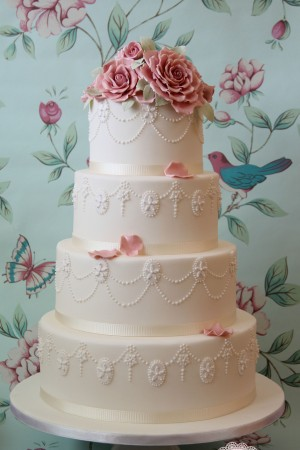 wedding cakes london, great gatsby wedding cakes, vintage wedding cakes london