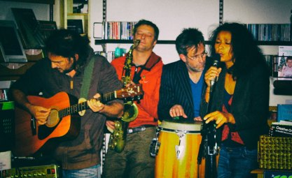 Jake Richard, Angus Crabtree, Peter Yates, Olu Ekata. Sweetpea Music