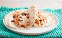 My favorite chicken tacos - 5-ingredient-chicken-tacos