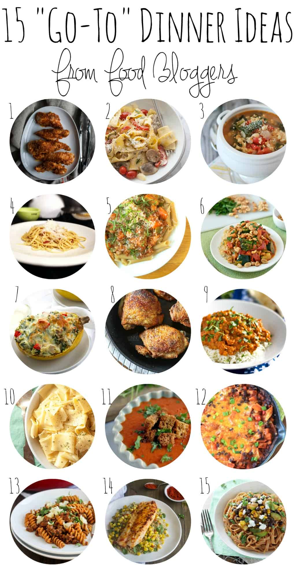 Need Dinnertime Inspiration 15 Go To Meals From Food