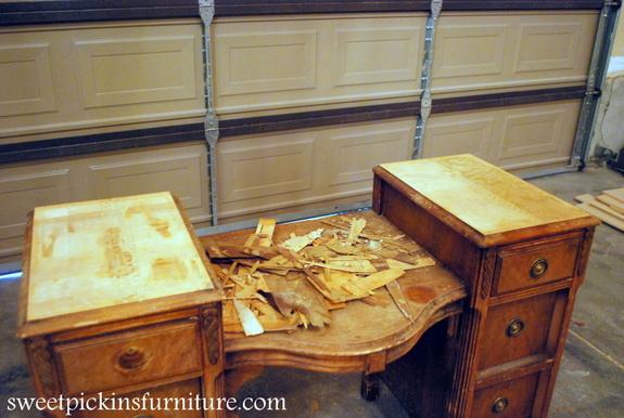 Tips For Removing Peeling Veneer Sweet Pickins Furniture