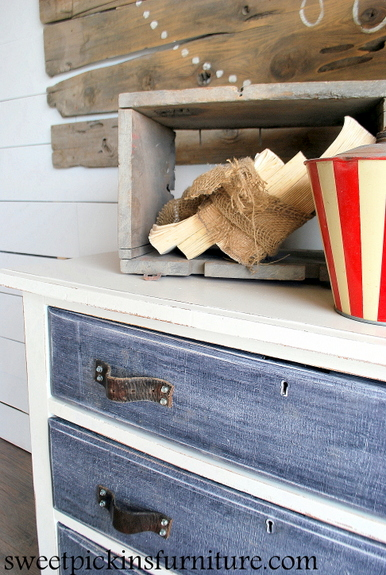 Sweet Pickins Denim Treatment Dresser