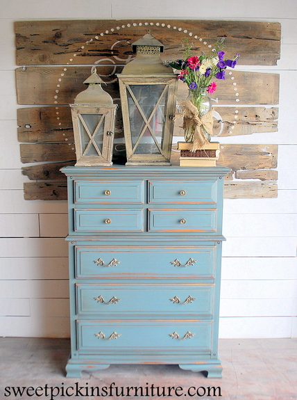 Milk Paint Dresser Before Amp After Sweet Pickins