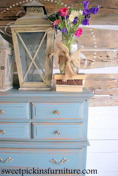 Sweet Pickins Furniture - Milk Paint Dresser