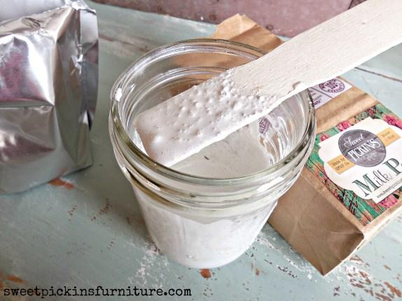 Sweet Pickins Milk Paint - mixing tutorial 3