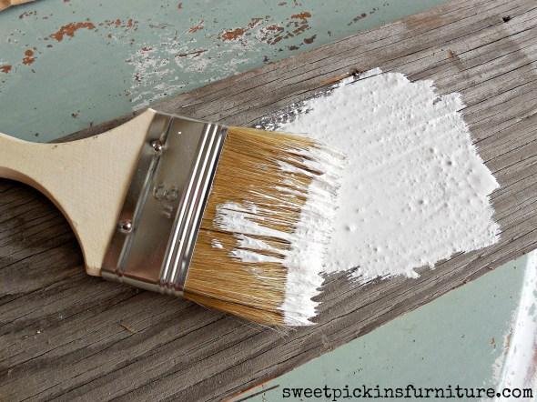 Sweet Pickins Milk Paint - mixing tutorial 5