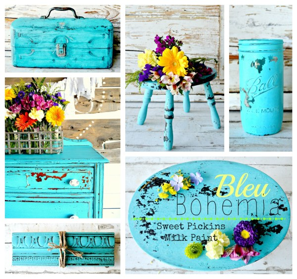 Sweet Pickins Milk Paint - Bleu Bohemia