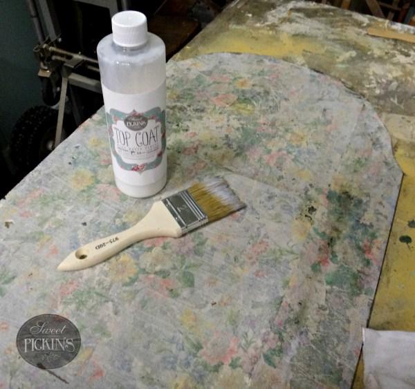 Sweet Pickins Milk Paint - Acid Mirror Tutorial