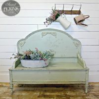 Sweet Pickins - headboard bench tutorial