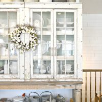 Sweet Pickins - Old Window Hutch