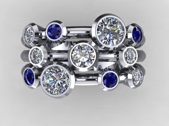 Modern Bespoke Ring