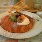 CoCoLo CAFE『フワフワパンケーキ 抹茶』