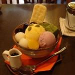 おいもカフェ 金糸雀『おいも鎌倉かぼちゃパフェ』