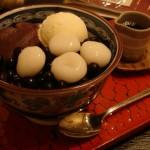 甘味処 いり江『白玉クリームあん豆かん』