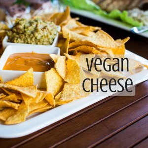 Vegan cheeses are made with so many ingredients besides animals - cashew cheese, cheese balls, nut free cheese, mozzarella cheese - so much variety