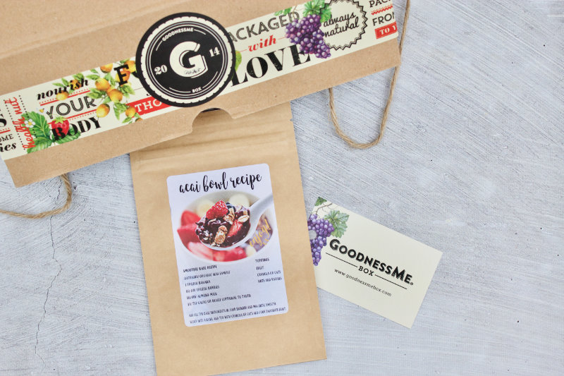 GoodnessMe Box brings you 6-10 high quality, vegan health products, to help you get on your way with clean eating and healthy living.