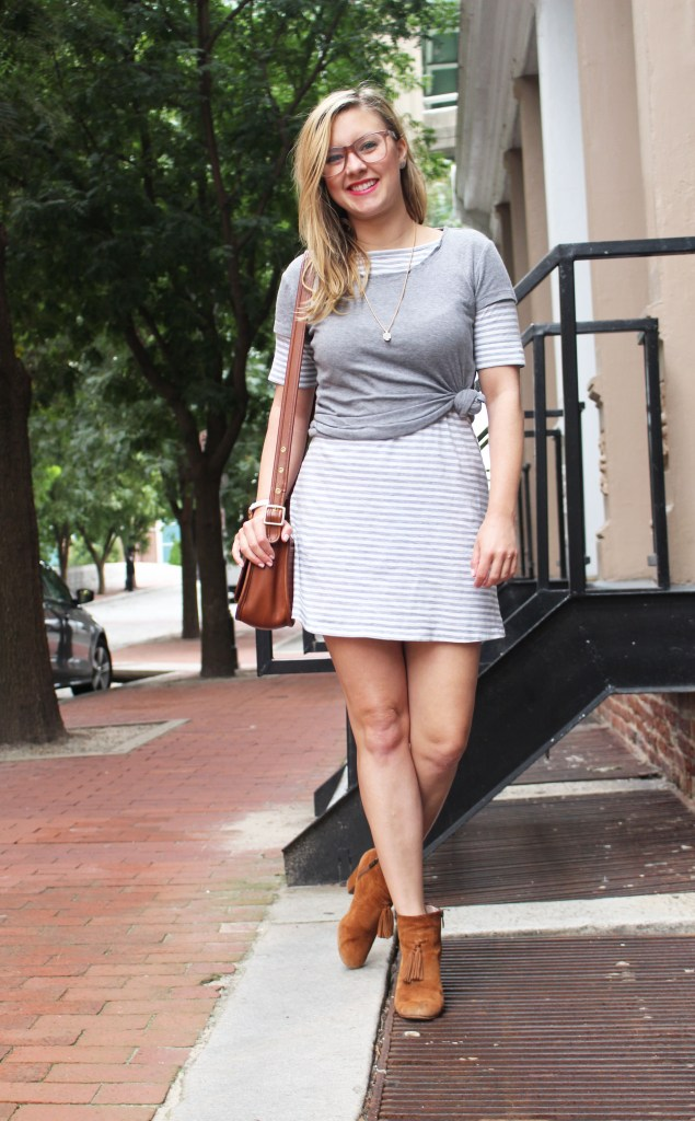striped-gray-dress