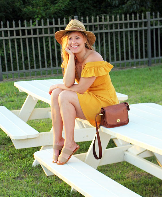 Thrifted Thursday: Yellow Dress Beach Bum