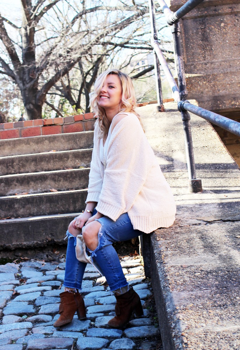 Chenille Cardigan + Spray Tan Giveaway