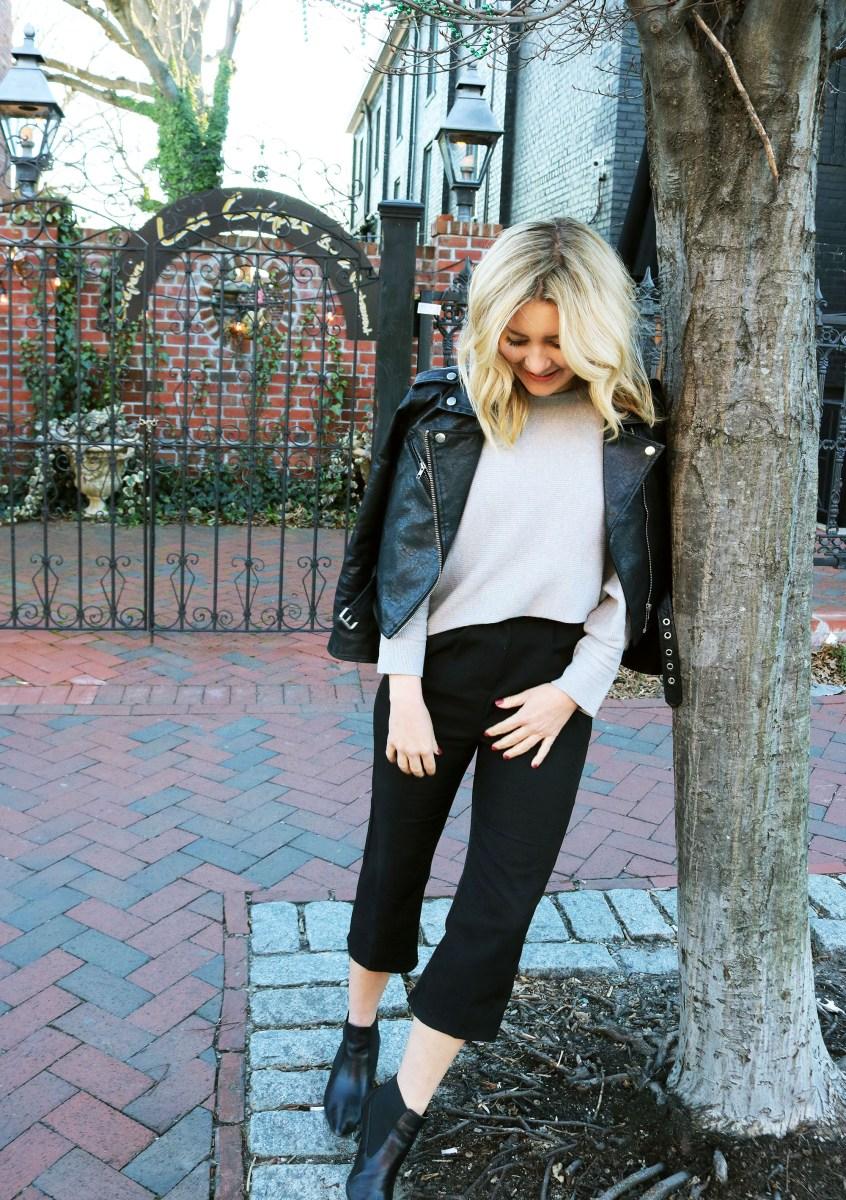 Three Ways to Style the Dolman Sleeve Sweater