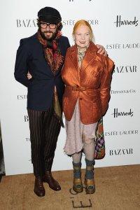 Vivienne Westwood mit Ehemann Andreas Kronthaler