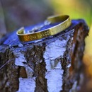 Personalisiertes Armband - Ihre Inschrift