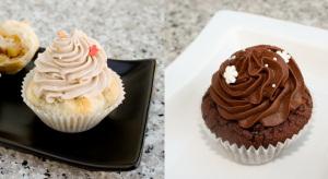 winterliche Cupcakes … (vegan)