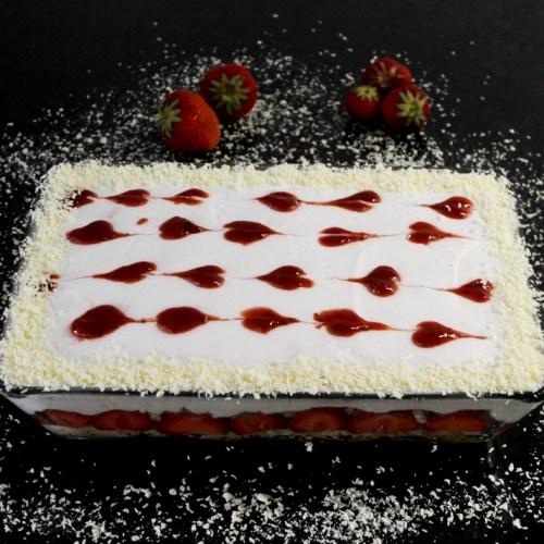 "Erdbeer""Tiramisu"" … (vegan)"