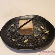 Chai-Nuss-Blondie ohne Zucker … (vegan)