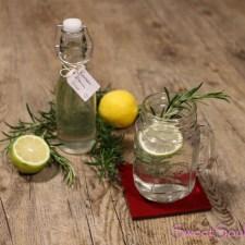 Sommerdrink 2018 – Rosmarin-Zitronen-Sirup