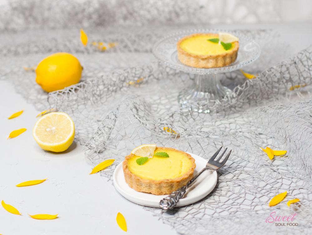 Zitronen Tartelettes gebacken