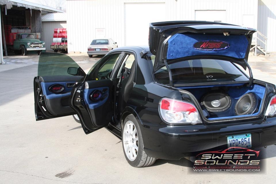 2006 Subaru STI Custom Fab