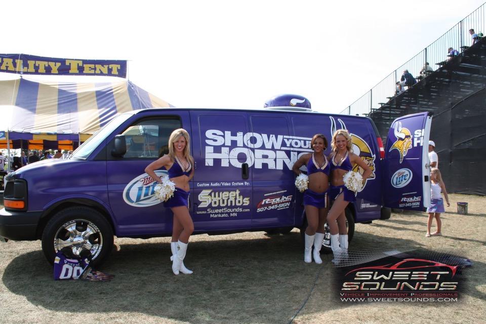Vikings Van Custom Fab