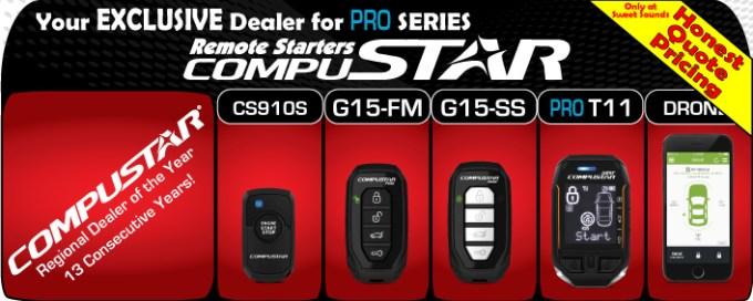 Compustar Pro Remote Car Starter Packages